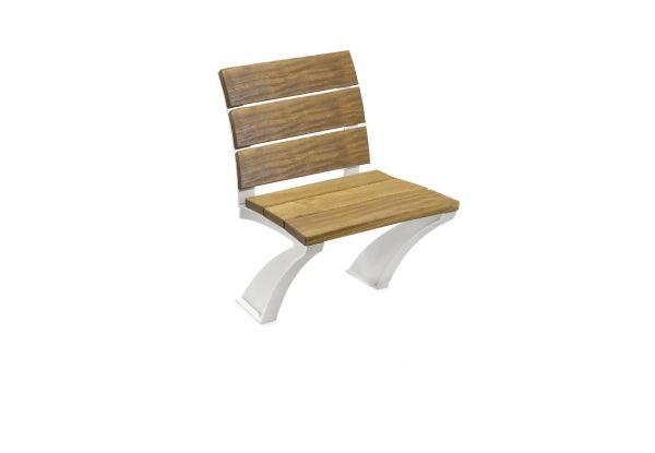 NORMA Einzelsitz mit Rückenlehne