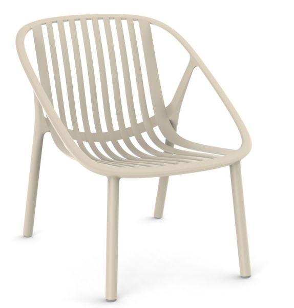 BINI Loungechair in elefenbein