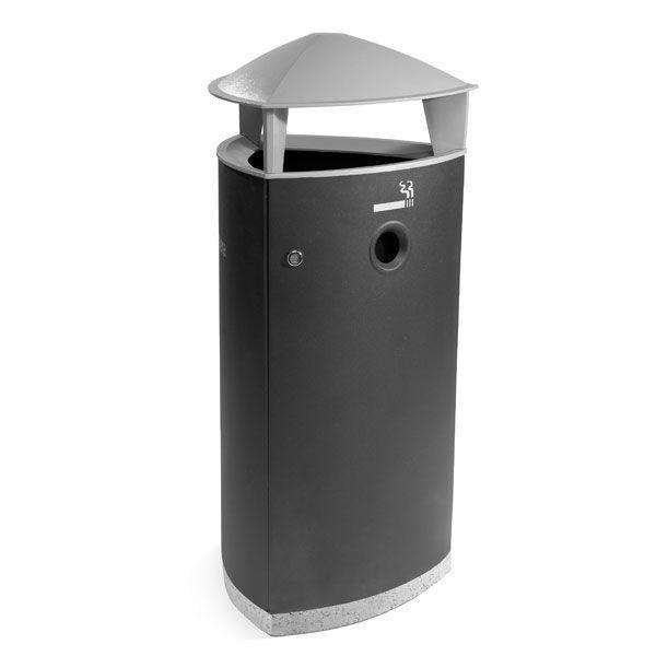 TRIA Abfallbehälter mit Aschenbecher